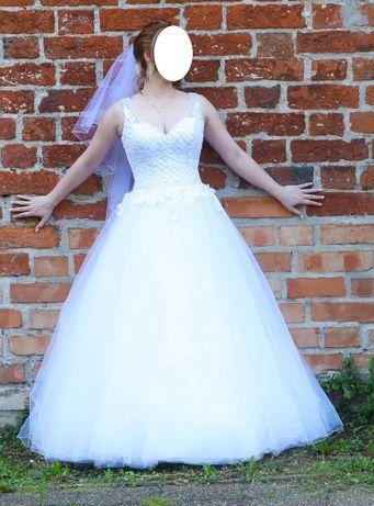 Suknia ślubna Melory + welon