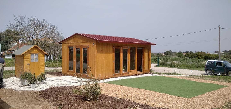 abrigo de jardim / anexo de madeira Madeira&Conforto