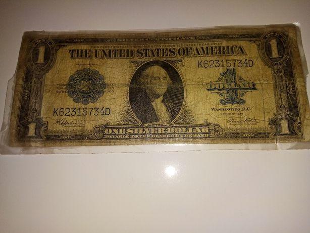 Продам 1 доллар 1923г. купюры, боны, бумажные деньги.