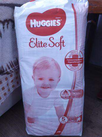 Памперсы Huggies Elite Soft 5 для мальчиков