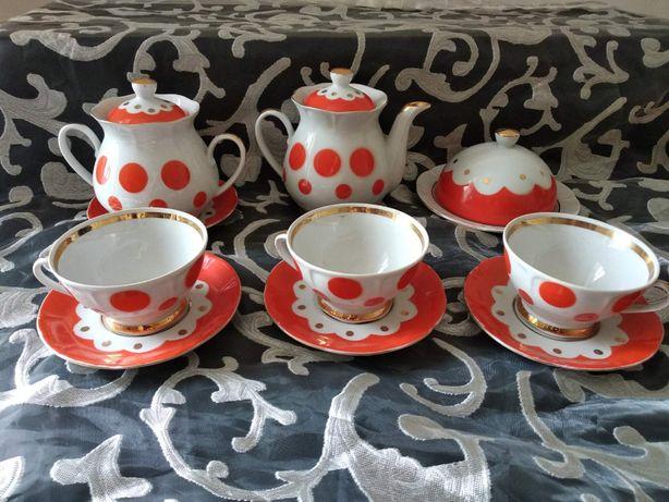 Посуда Сервизы СССР разное сахарница чайник чашки блюдца Фарфор Довбыш