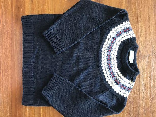 Camisola azul escura