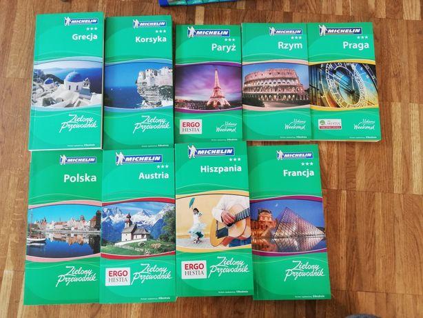 Przewodnik Michelin. Grecja, Korsyka, Paryż, Francja, Austria, inne