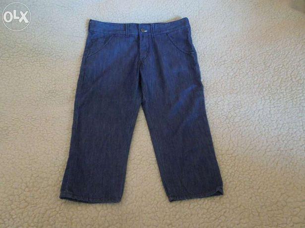Damskie spodenki bawełniane(jeansowe) marki LEE Rozmiar L