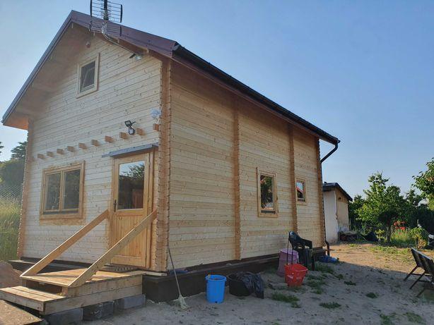 Domek  dom drewniany całoroczny Jan II