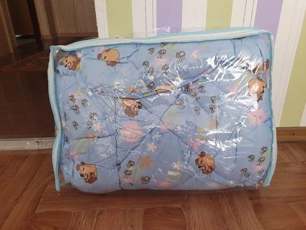 Новое теплое одеяло в кроватку для младенца