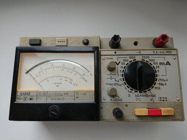 Тестер , прибор электроизмерительный Ц-4342 СССР