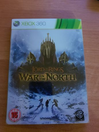 Lord of the Rings War in the North Xbox 360 steelbook