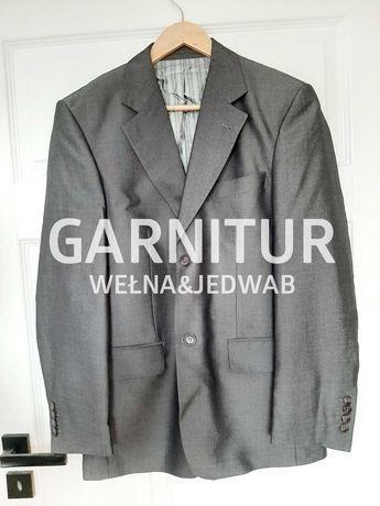 Elegancki szary garnitur M, 170/92/78