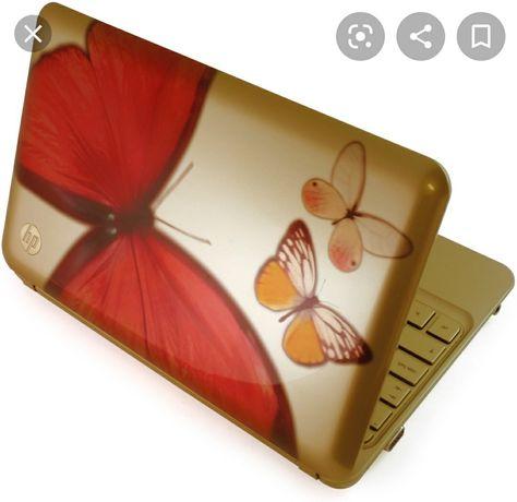 Нетбук HP Mini 210 Vivienne Tam: золотая бабочка