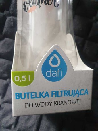 Butelka Dafi 0,5 L z filtrem nowa