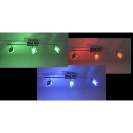 Lampa sufitowa LED RGB listwa DANN Paul Neuhaus 8643-17 spot ścienna