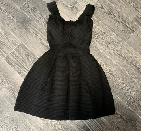 Чёрное платье из резинок, бейбидолл, бейби долл