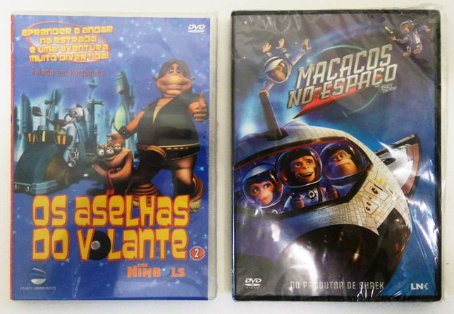 Pack 2 DVD Originais (novo-por estrear)