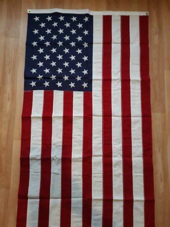 Флаг США. Настоящий, изготовлен в США.