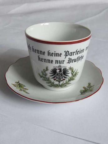 Германия Первая мировая 1914 чайно-кофейный набор чашка блюдце Bavaria