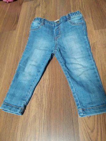Spodnie jeansowe jak nowe. Rozmiar 86
