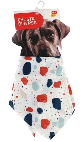 Eloy Pets Chusta dla psa Krawat Max 48cm Grochy
