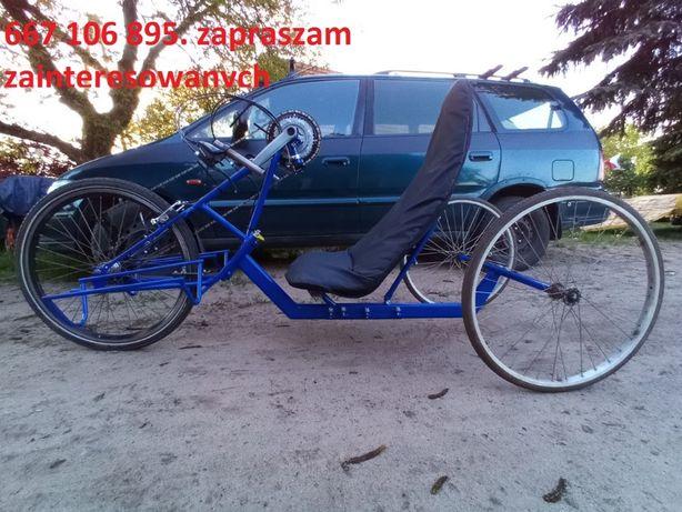 Handbike. Rower z napędem ręcznym