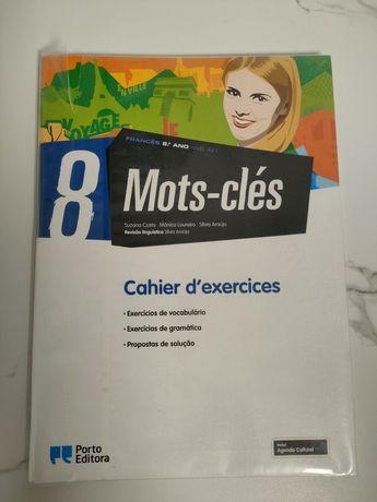 Livro escolar Francês 8 ano - Mots-clés