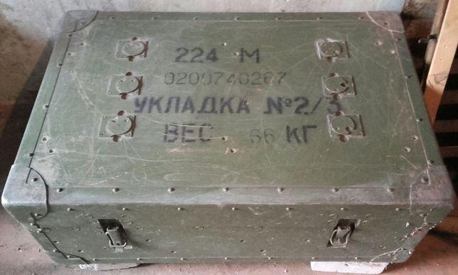 Ящик (2шт) военный армейский советский короб СССР