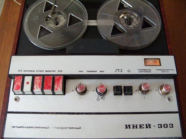 Магнитофон Иней-303