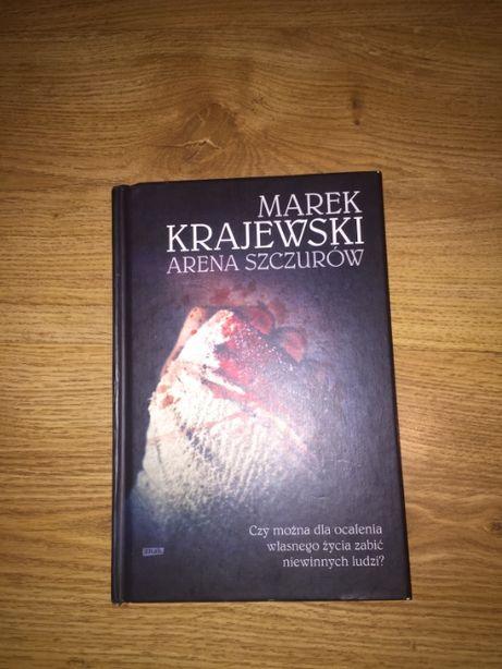 Arena Szczurów Marek Krajewski twarda oprawa