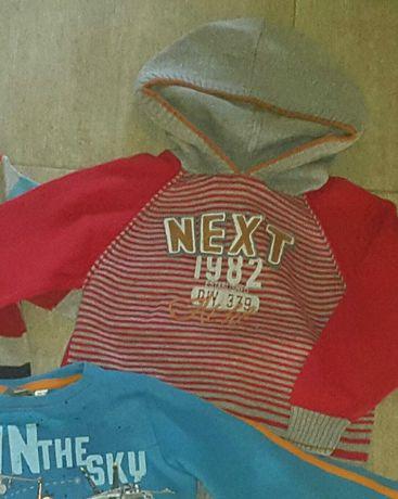 Bluza z kapturem sweterek 104
