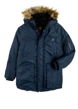 Куртка-парка для мальчика CoolClub р.122, 140см