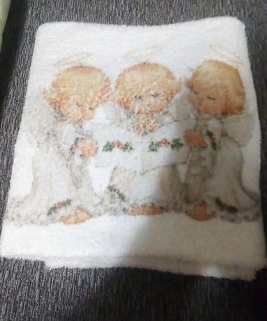Махровое покрывало+бортики для кроватки