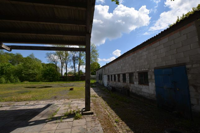 Działka przemysłowa z halą 400 m2 Straszyn