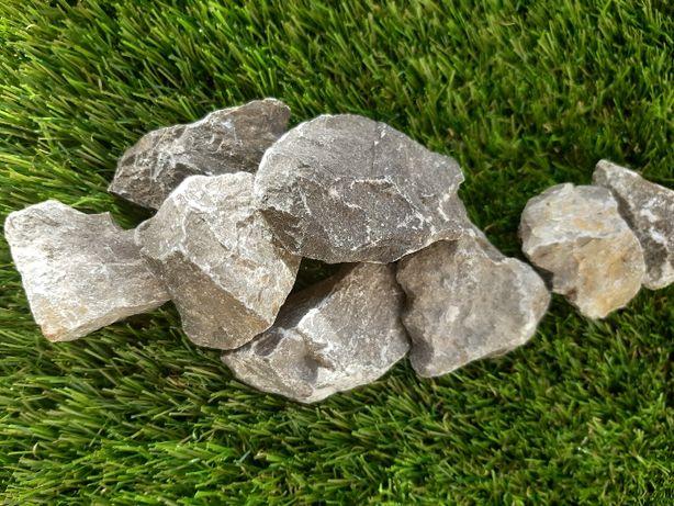 Kamień Srebrno Szary Grys 16-22 mm