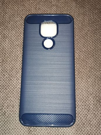 Etui silikonowe do telefonu Motorola Moto E7 Plus G9 Play niebieskie
