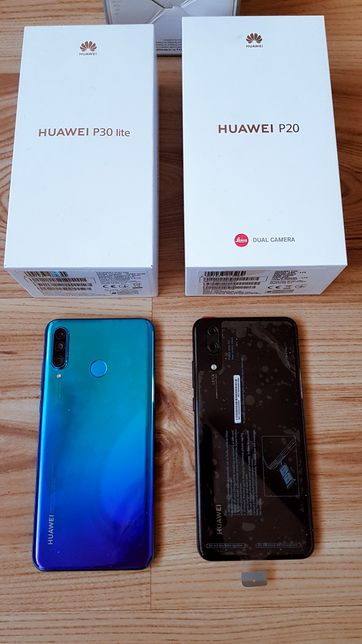 Ładny i zadbany Huawei P30 lite niebieski 4GB RAM 128 GB ROM gwarancja