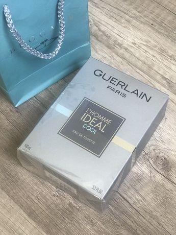 Guerlain ideal cool мужские духи туалетная вода парфюм для мужчины
