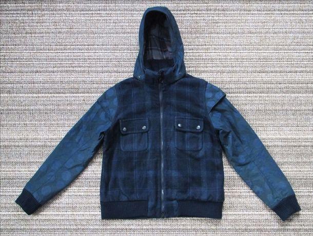 BARBOUR x Christopher Raeburn Otway Bomber wax куртка Оригинал [UK 10]