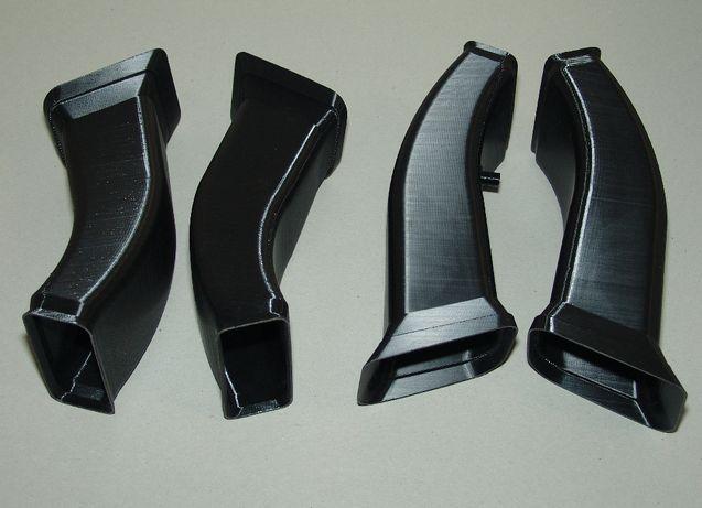 Воздуховод М-бампер BMW E36 (БМВ е36) Л+П (комплект)