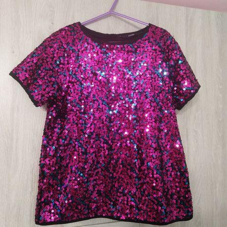 Cekinowa bluzeczka 140-146 cm