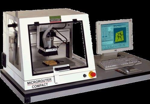 Frezarka CNC Denford Microrouter