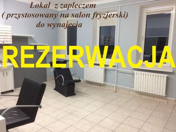 Salon Fryzjerski (z ogrzewaniem w cenie) w Centrum Handlowo-Usługowym.
