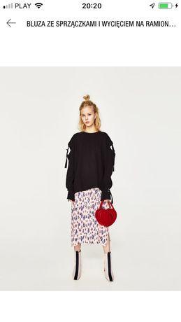 Bluzka ze sprzączka Zara Woman rozmiar S