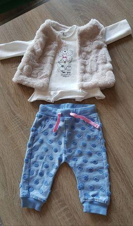 Komplet ubranek dla dziewczynki