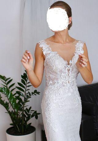 suknia REVELANCE, kolor ecru
