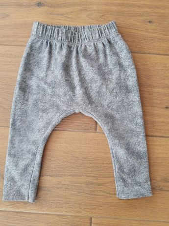 Spodnie rurki leginsy pampicio r 74
