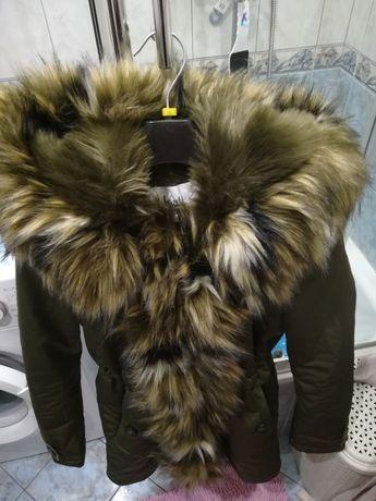 Zimowa kurtka bardzo ciepła firmy K. Zell