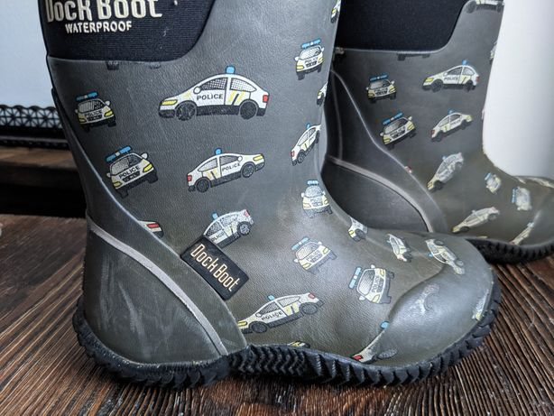 Kalosze śniegowce Dock Boot waterproof w samochody  Rozmiar 27