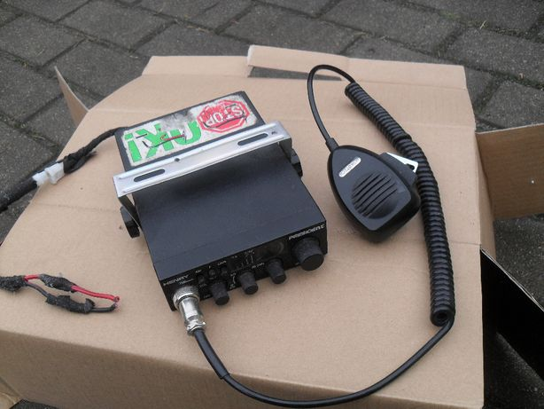 CB radio PRESIDENT HENRY CLASSIC + antena cbradio radiola komplet