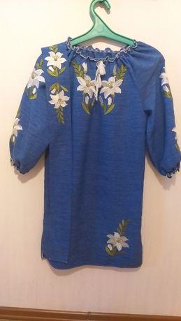 Плаття-вишиванка на 10-13 років. Платье с вышивкой очень красивое