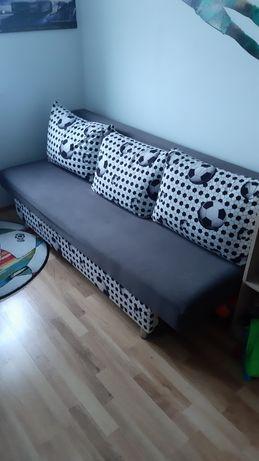Łóżko młodzieżowe dla Fana piłki nożnej.