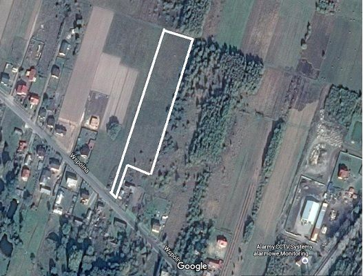 Działka w Walerianach, 12000m w całości budowlana do podziału na mniej